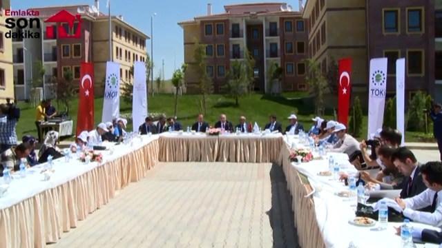 TOKİ Nevşehir Ürgüp projesini tamamladı!