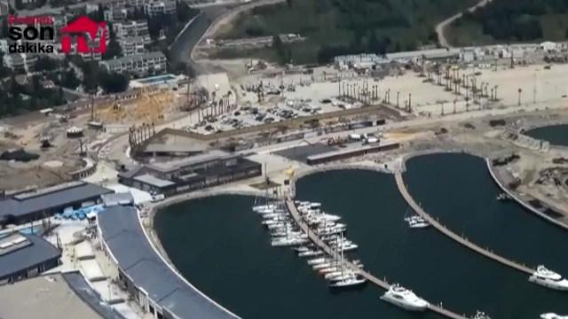 Tuzla Viaport Marina'nın helikopter görüntüleri yayında!