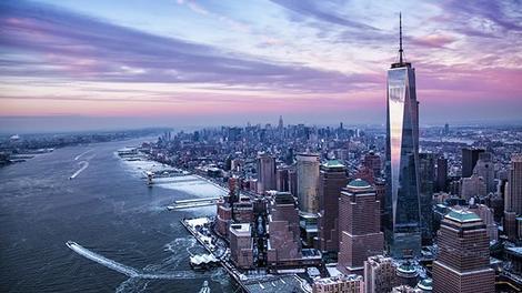 One World Trade Center işte böyle yapıldı!