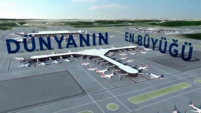 3. havalimanının tanıtım filmi yayında!