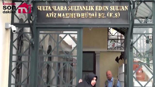 Aziz Mahmud Hüdai Hazretleri'nin türbesi ziyaretçi akınına uğruyor!