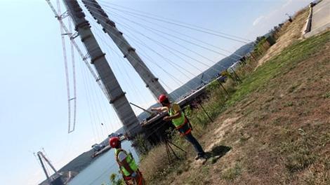 3. köprüde çalışmalar sona yaklaştı