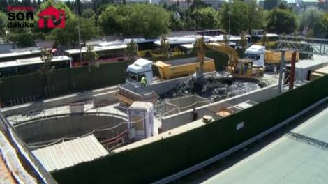 Mecidiyeköy'de yeni metro çalışmaları tam gaz!
