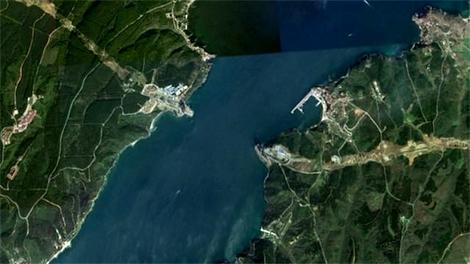 Kuzey Marmara Otoyolu'nun uydu görüntüsü!