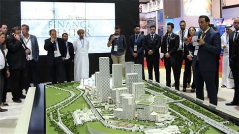 Ağaoğlu, Uluslararası Finans Merkezi'ni tüm dünyaya tanıttı