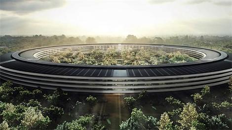 İşte Apple'ın yeni kampüsü!