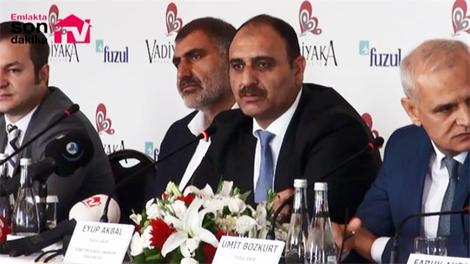 Vadiyaka Başakşehir basın lansmanı yapıldı