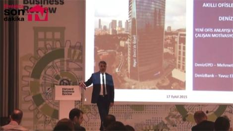 Mehmet Çitil, Denizbank'ın merkezi Torun Tower'ı anlattı