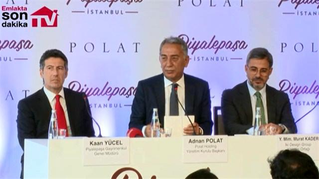 Piyalepaşa İstanbul'un reklam filmi basına tanıtıldı!