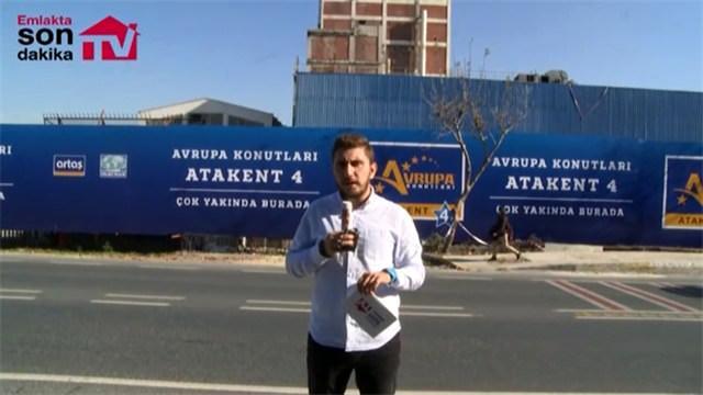 Avrupa Konutları Atakent 4 hızla ilerliyor