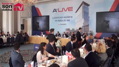 A Live Ataşehir projesi görücüye çıktı!