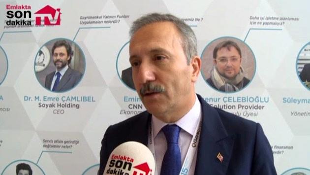 Aziz Yeniay 'Gayrimenkul, Türkiye'nin kalkınması demek'