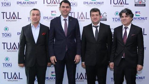 Tual Bahçekent basın toplantısı yayında!