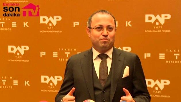 Ziya Yılmaz, Taksim Petek Residence'ı anlattı!