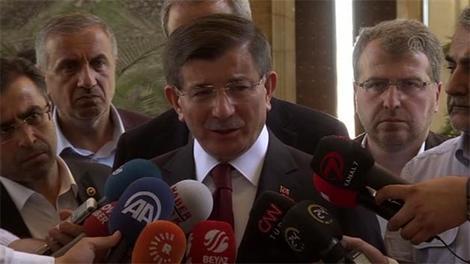 """Davutoğlu: """"Onurumuza yapılan bir saldırıydı"""""""