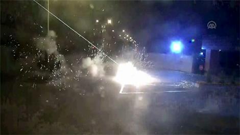 Darbecilerin MİT'e yönelik saldırısının güvenlik kamerası görüntüleri