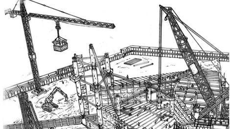 Hafriyattan bitime inşaatın yapılışı