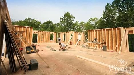 Özel bir ev yapımı ve zaman atlamalı projesi