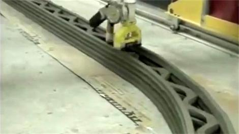 Geleceğin inşaat teknolojisi; Duvar ören robot