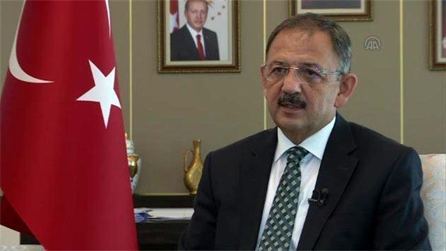 Mehmet Özhaseki: Bir yılda 150 bin konut yenilenecek
