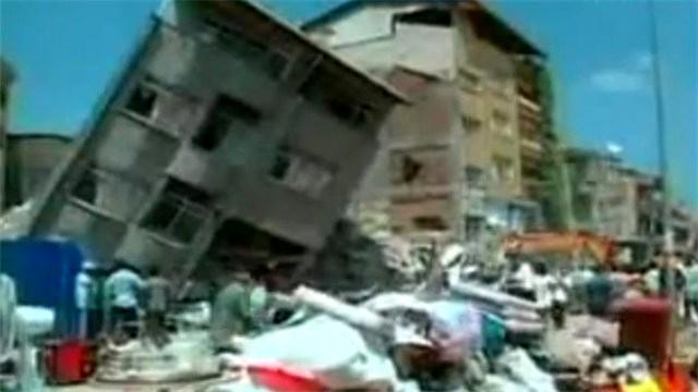 Gölcük depremi görüntüleri