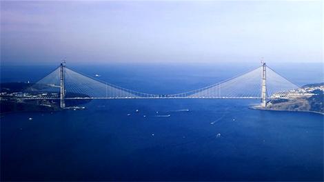 İşte Yavuz Sultan Selim Köprüsü'nün detayları