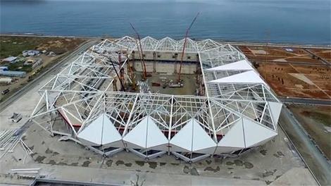 Trabzon Akyazı Stadı'nın son durumu!