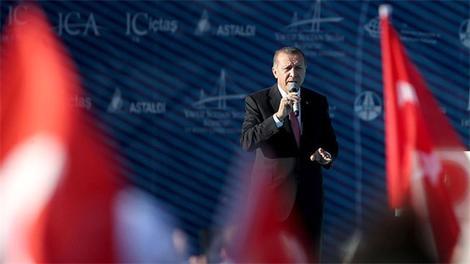 Cumhurbaşkanı Erdoğan, Yavuz Sultan Selim Köprüsü'nü açtı!