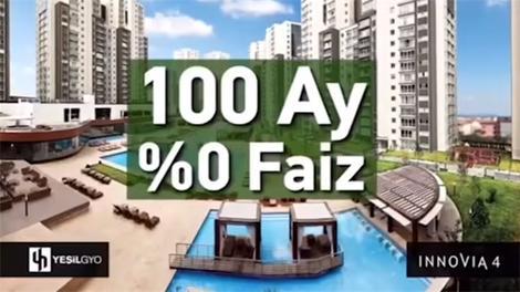 Yeşil GYO'nun 100 ay sıfır faiz reklamı!