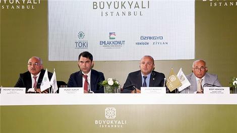 Büyükyalı İstanbul'un lansmanı yapıldı!
