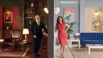 Mine Tugay ve Deniz Gökçe, Bulvar Loft reklam filminde!