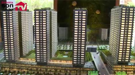 Fikirtepe Mina Towers maket videosu!