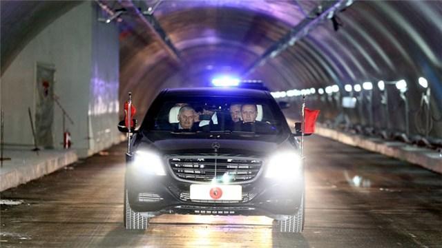 Avrasya Tüneli'nden ilk geçiş!