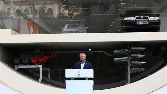 Başbakan Yıldırım: Avrasya Tüneli gün sayıyor