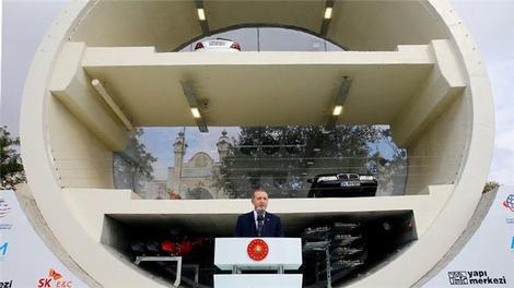 Cumhurbaşkanı, Avrasya Tüneli'nde!