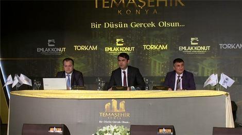 Temaşehir Konya projesi görücüye çıktı