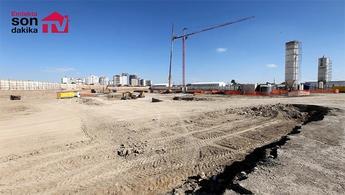 Temaşehir Konya projesinin şantiyesinden kareler!