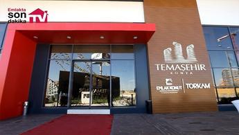 İşte Temaşehir Konya projesinin satış ofisi!