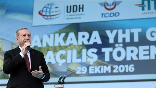 Cumhurbaşkanı, Ankara Yüksek Hızlı Tren Garı'nı hizmete açtı!