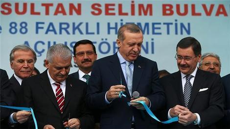 Cumhurbaşkanı, Ankara Keçiören'deki açılışlara katıldı!