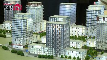 Strada Bahçeşehir projesinin maketi yayında!