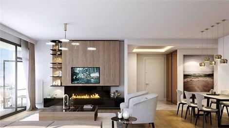 Akzirve Strada Bahçeşehir'in örnek dairesi ve kat planları!