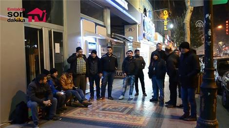 TOKİ'nin Malatya konutları için soğukta sıra beklediler!