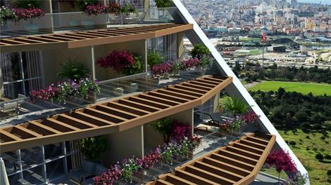 Çukurova Balkon'da eviniz adalara bakacak