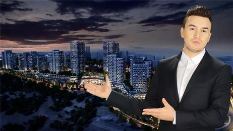 Mustafa Ceceli, Başkent Emlak Konutları'nın reklam yüzü oldu!