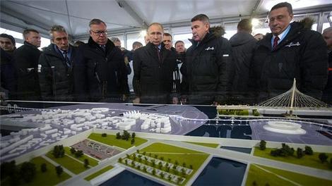 St. Petersburg Yüksek Hızlı Batı Çevreyolu açıldı