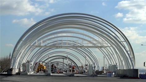 İşte Avrasya Tüneli'nin gişeleri!