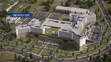 Elazığ Şehir Hastanesi böyle olacak!