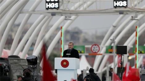 Cumhurbaşkanı, Avrasya Tüneli'ni hizmete açtı!