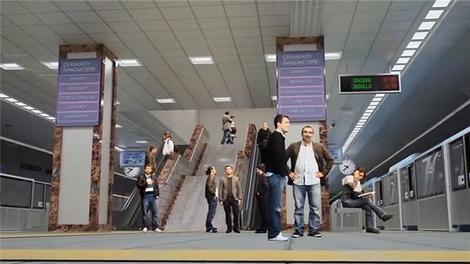 Üsküdar-Ümraniye-Çekmeköy metro hattı tanıtım filmi!